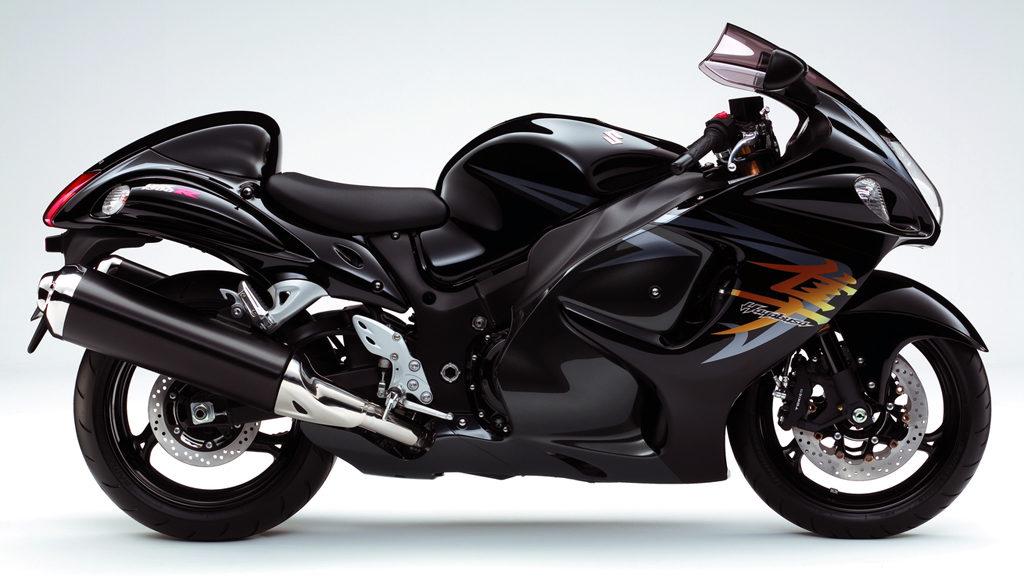 2009年式の隼のカラー(黒)