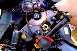 バイクの鍵穴をメンテナンス(清掃)する方法