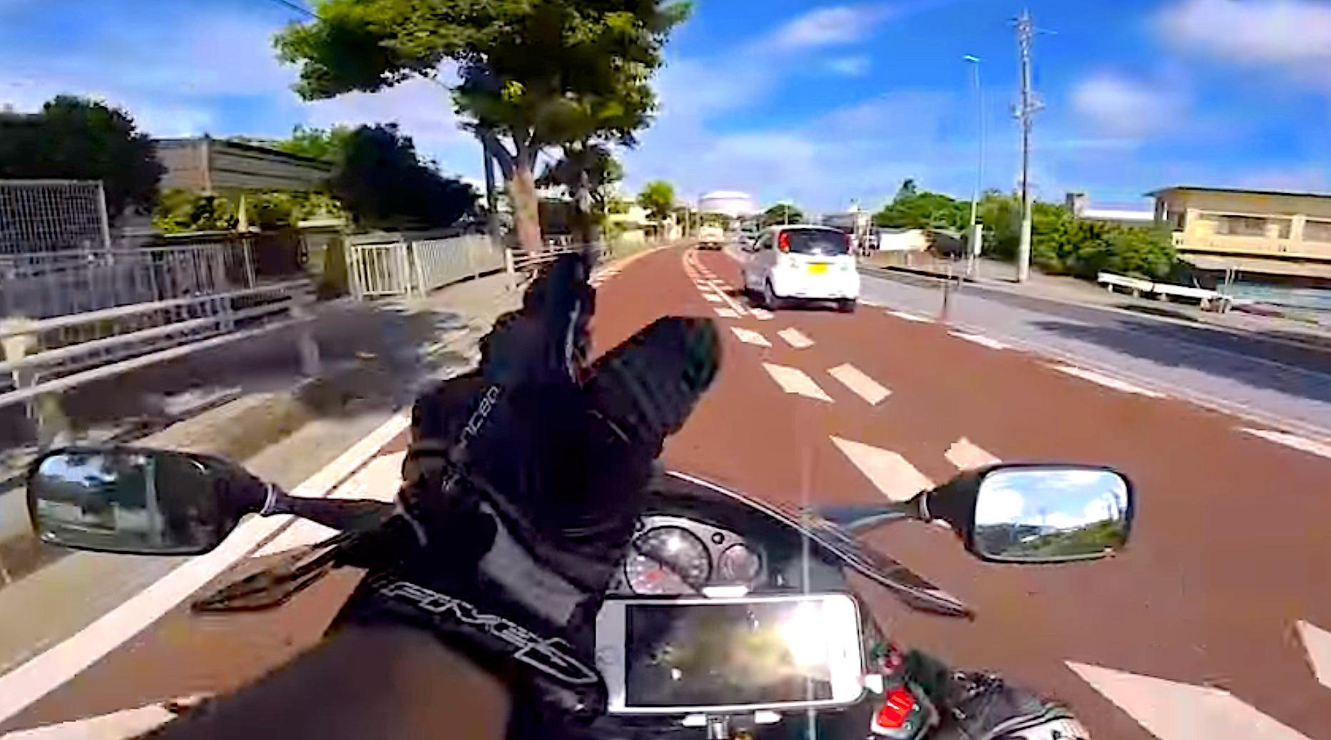 沖縄でのバイク走行について