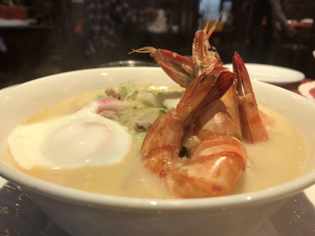 九州ツーリング中、長崎県の中華街でちゃんぽん食べた