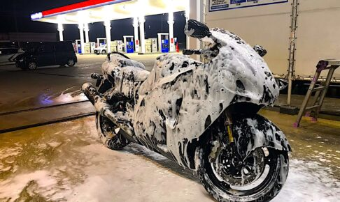 バイクをきれいに保つ2つの洗車方法